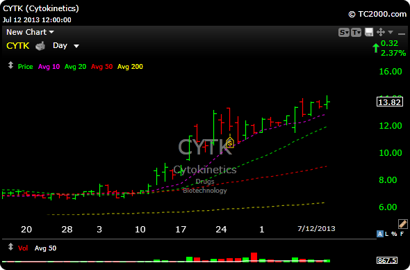 Cytk stock options