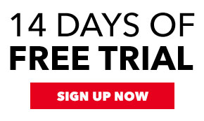 Two weeks of free trial